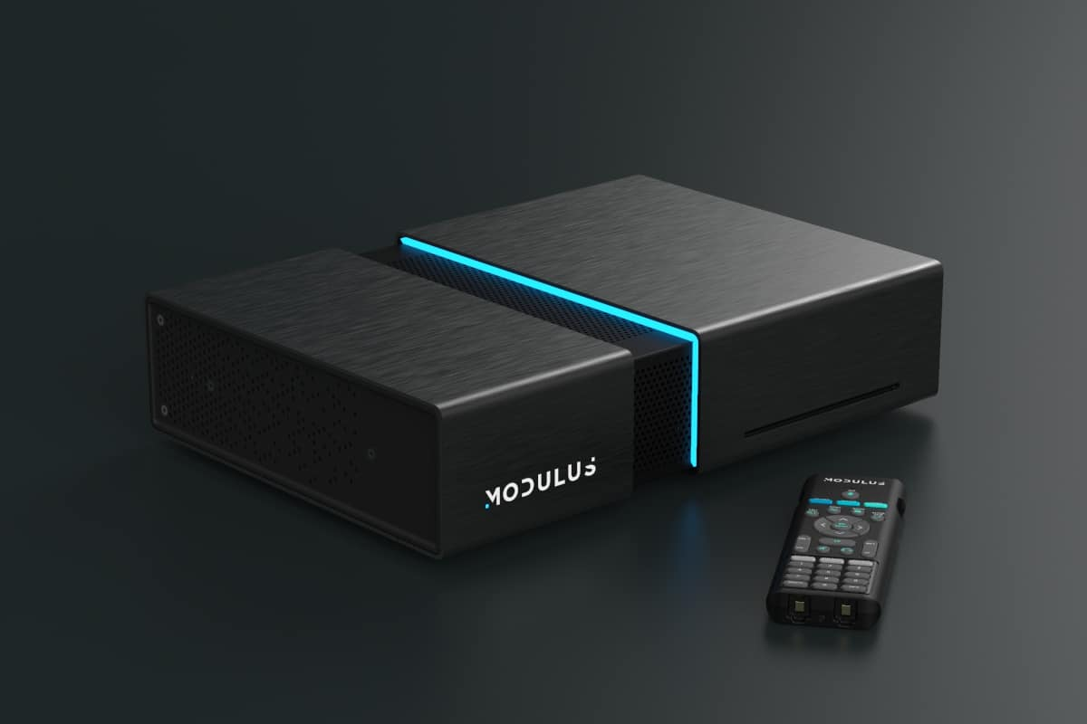 Modulus Media Systems M1 device and remote