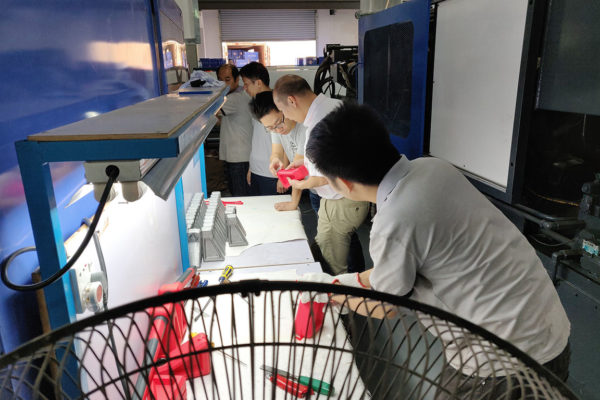 Troubleshooting injection molding at China factory