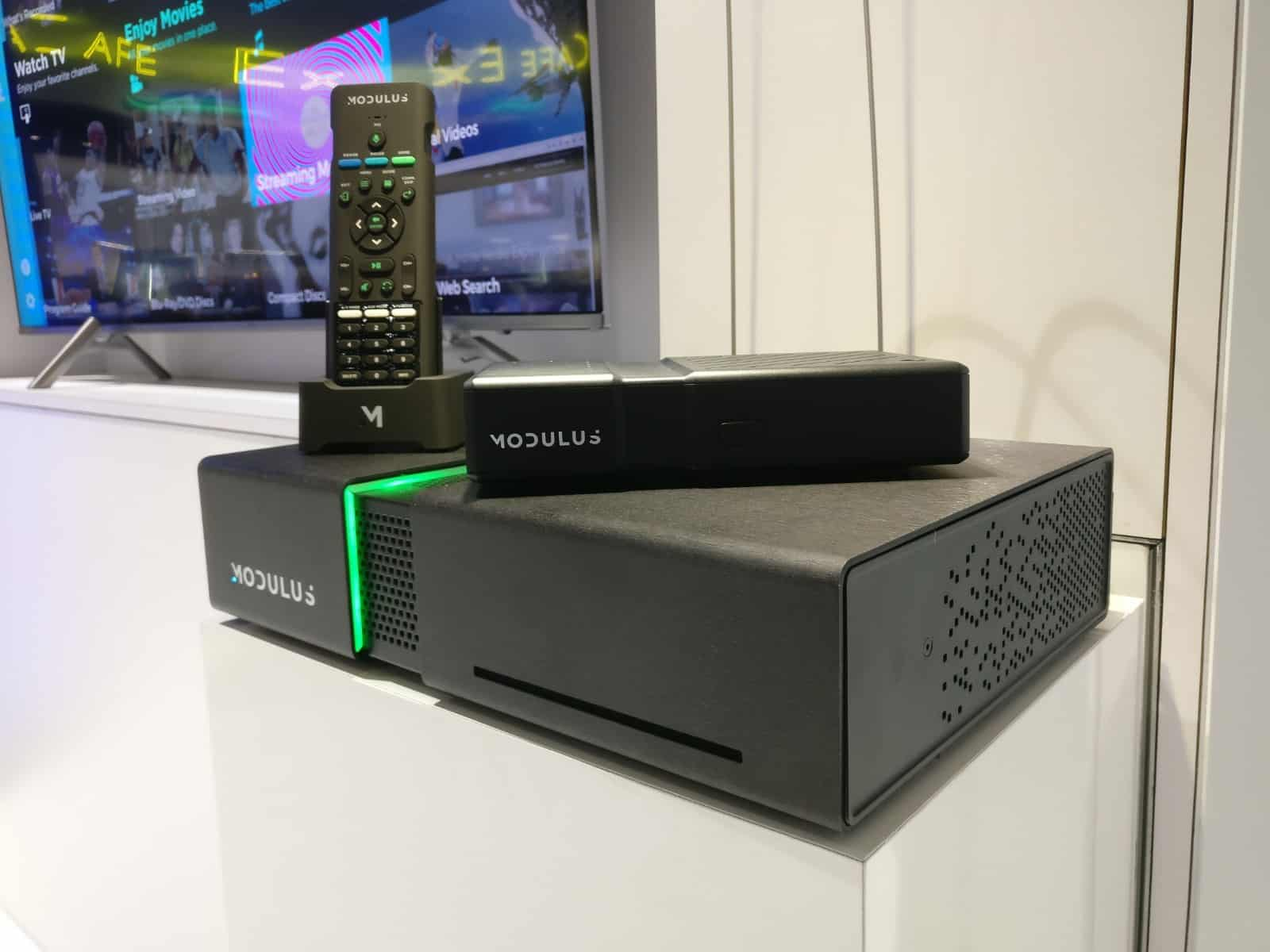 Modulus Media Systems M1 device and remote at CEDIA