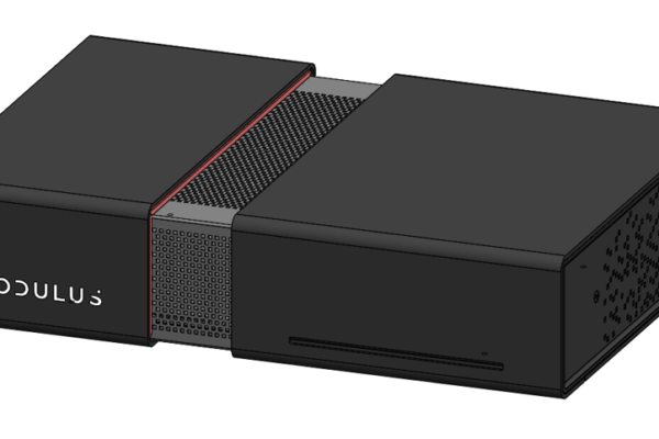 CAD model of Modulus Media Systems M1 device
