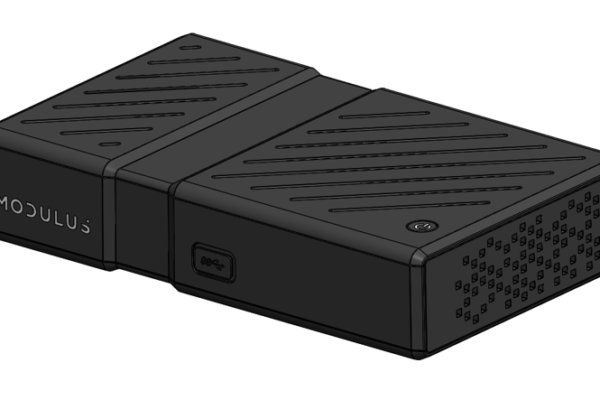 CAD model of Modulus Media Systems MX1 device