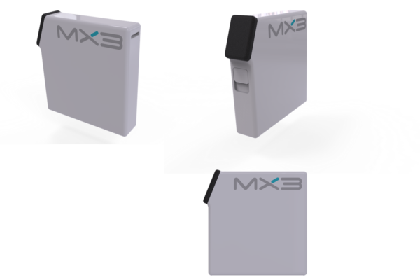 Rendering of the MX3 dispenser