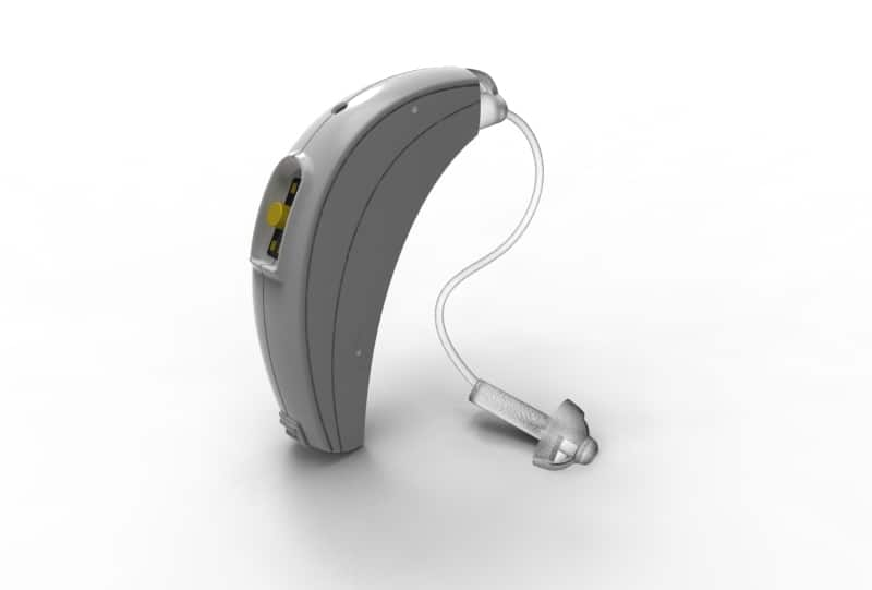 Audiotoniq's hearing aid